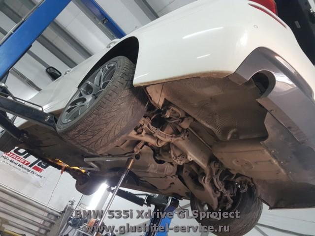 Кастом система выпуска BMW 535i Xdrive