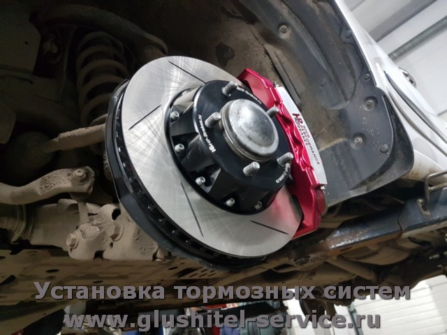 Передние тормоза HPbrakes Lexus LX570