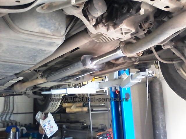 Ремонт глушителя Toyota RAV4 - глушитель из нержавеющей стали