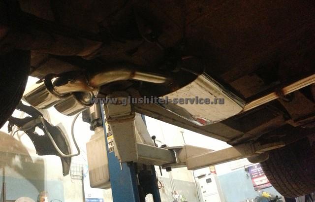 Система выпуска на ГАЗ 21 Черная Молния