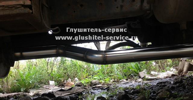 Ремонт выхлопной трубы грузового автомобиля в Глушитель сервисе www.glushitel-servicwe.ru