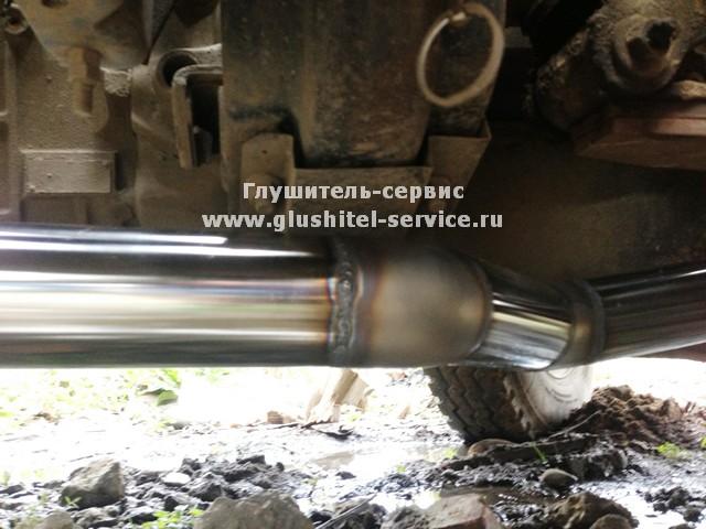 Ремонт глушителя грузового автомобиля в Глушитель сервисе www.glushitel-servicwe.ru