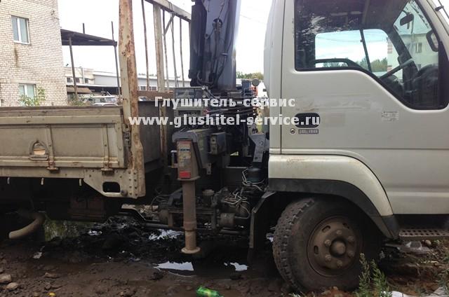 Ремонт глушителя грузовика в Глушитель-сервисе www.glushitel-service.ru