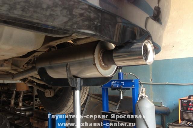 Еще одна облегченная система выпуска из нержавеющей стали