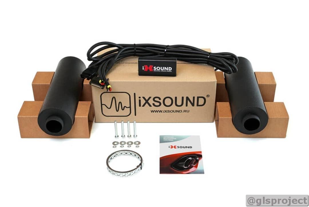 iXsound активная выпускная система на Мерседес GLS