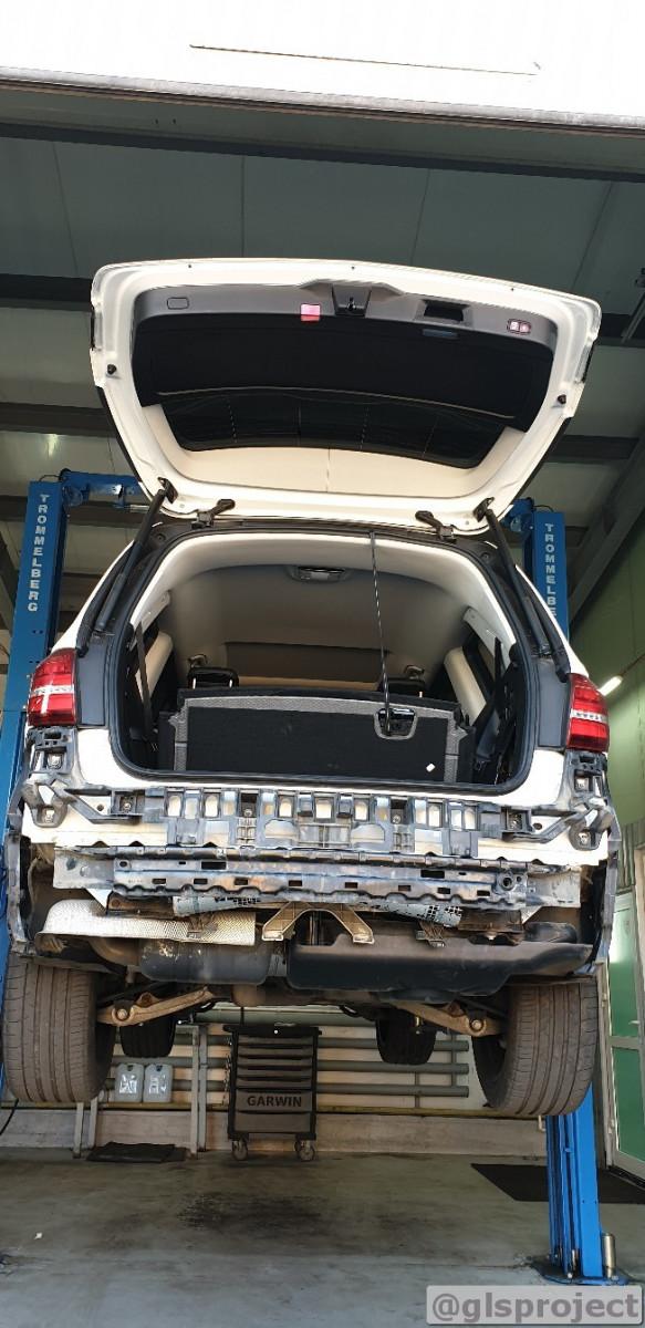 iXsound активная выпускная система на Mercedes GLS