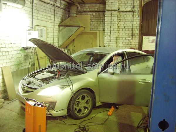 Чип-тюнинг Mazda 6 в Глушитель-Сервис Кострома