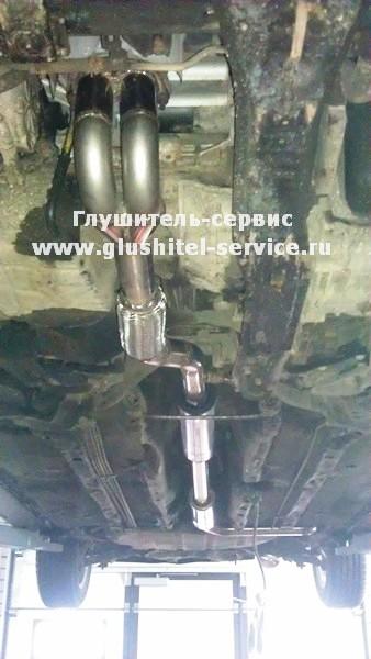 Спортивный выпуск на Mitsubishi Galant 2.4 GDI от glushitel-service.ru