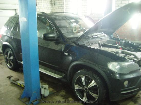 Мощностная прошивка BMW X5 3.0d Глушитель-Сервисе