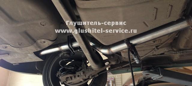 Делаем глушители на Opel Astra OPC в www.glushitel-service.ru