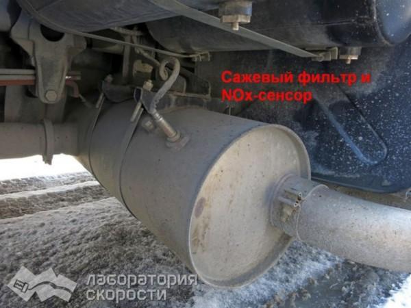 Отключение системы впрыска мочевины AdBlue на КамАЗ 45144