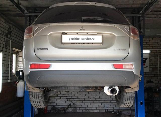 Изготовление глушителя Outlander V6 в Глушитель-сервисе Ярославль