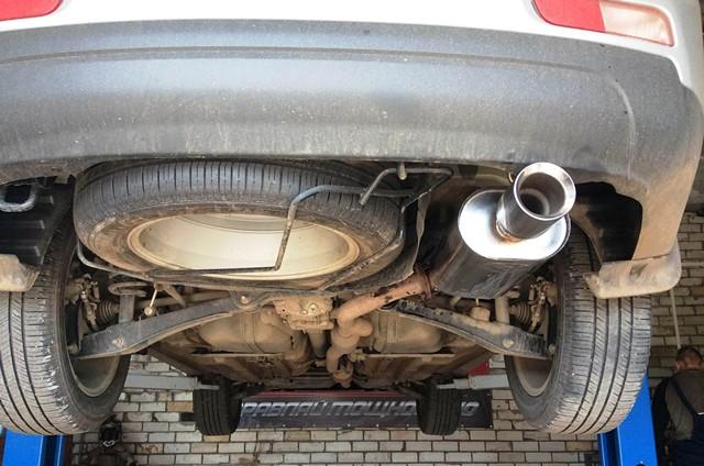 Тюнинг глушителя Outlander V6 в Глушитель-сервисе Ярославль
