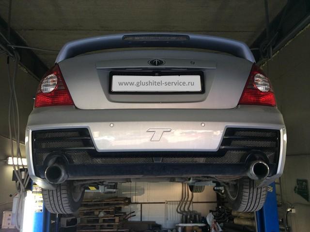 Тюнинг глушителя Hyundai Elantra 2.0