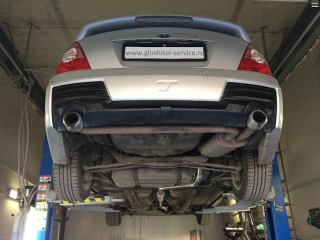 Тюнинг выхлопной системы Hyundai Elantra 2.0