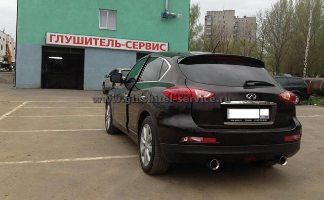 Тюнинг глушителя Infinity в Глушитель-сервисе glushitel-service.ru