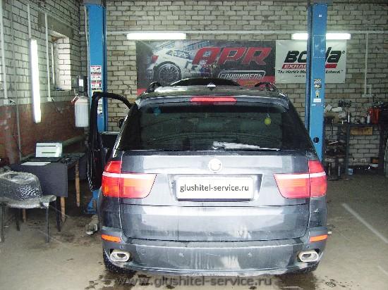 Прошивка BMW X5 3.0d в glushitel-service.ru