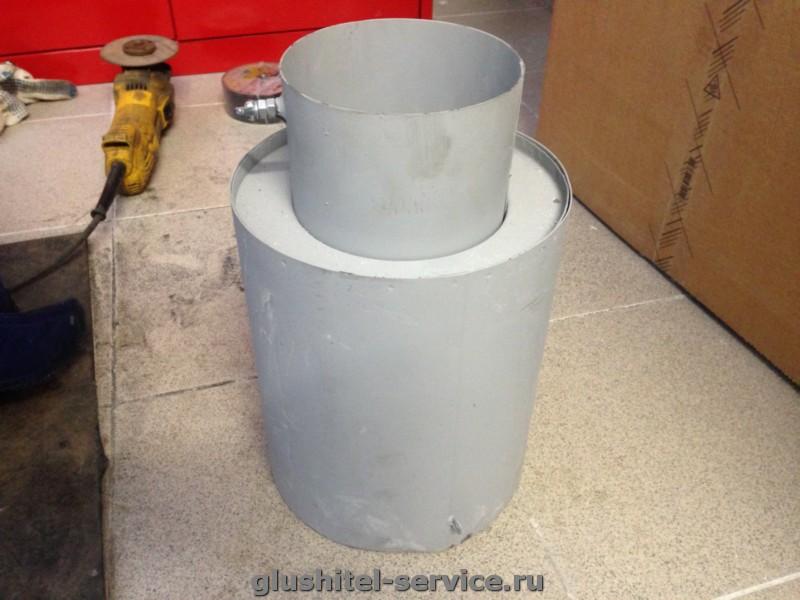 система выпуска для дизельного генератора