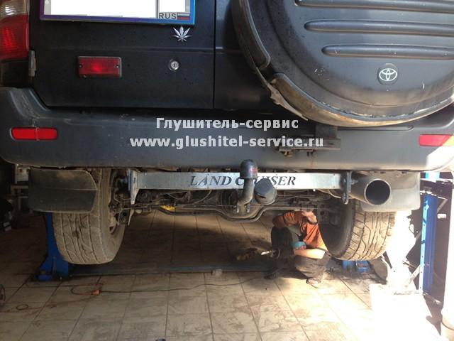 Раздвоение системы на Toyota Land Cruiser