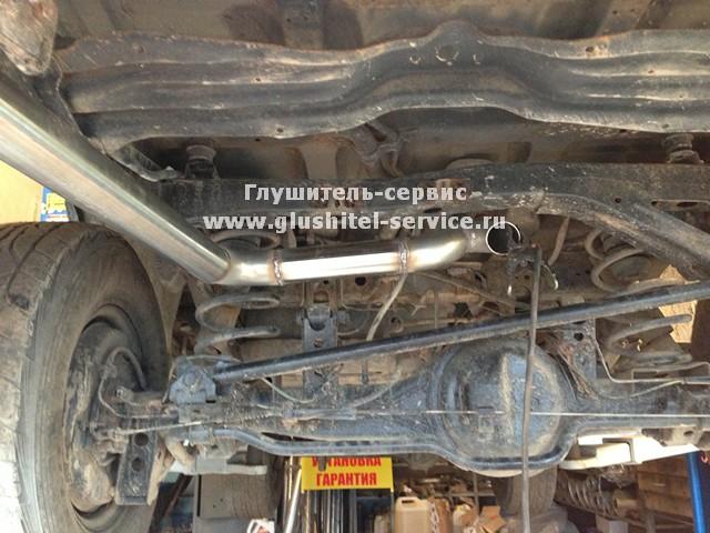 Раздвоение системы на Toyota Land Cruiser www.glushitel-service.ru