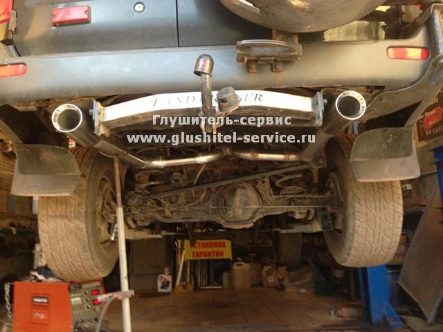 Раздвоение системы на Toyota Land Cruiser, podveson motor squad