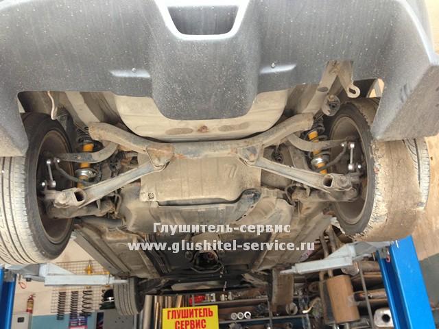 Тюнинг системы выпуска Toyota Celica GT-S в Глушитель-сервисе www.glushitel-service.ru