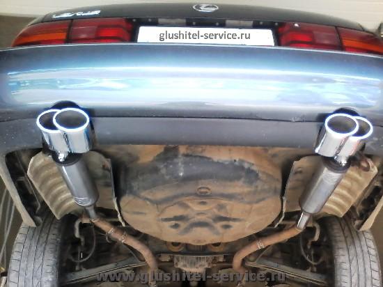 Тюнинг глушителя Lexus LS400