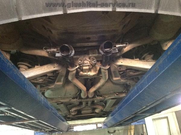 Установка cutouts в Chevrolet Camaro в glushitel-service.ru