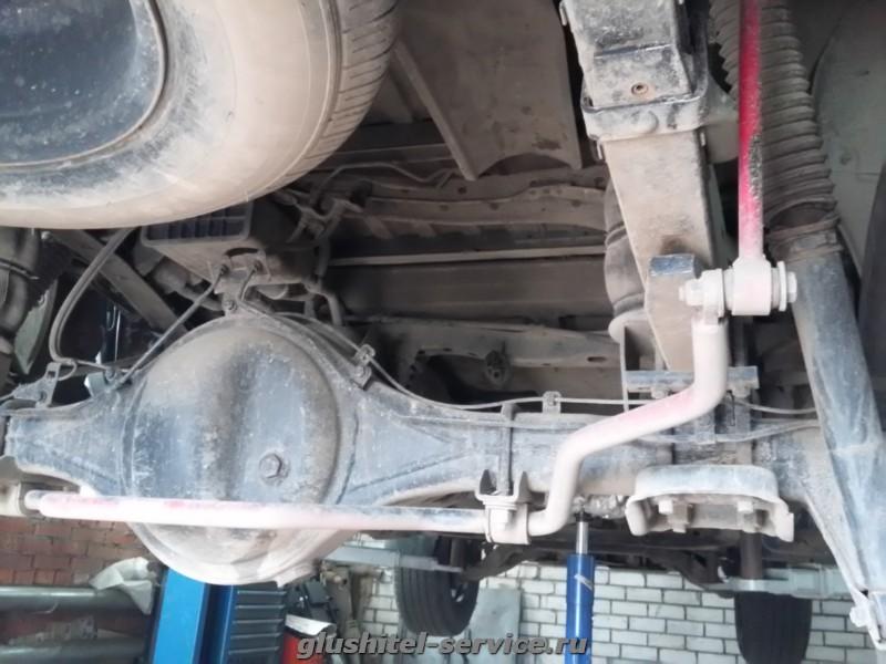 Тюнинг выхлопной системы Toyota Tundra