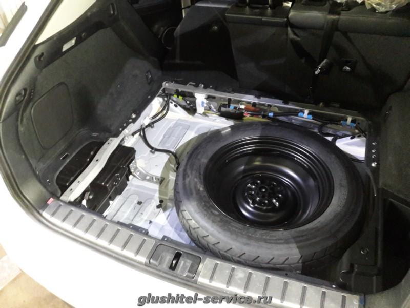 Установка на Lexus RX200t  фаркопа Bosal 3097-A