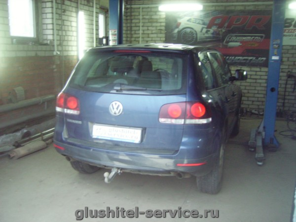 Удаление сажевого фильтра на Volkswagen Touareg