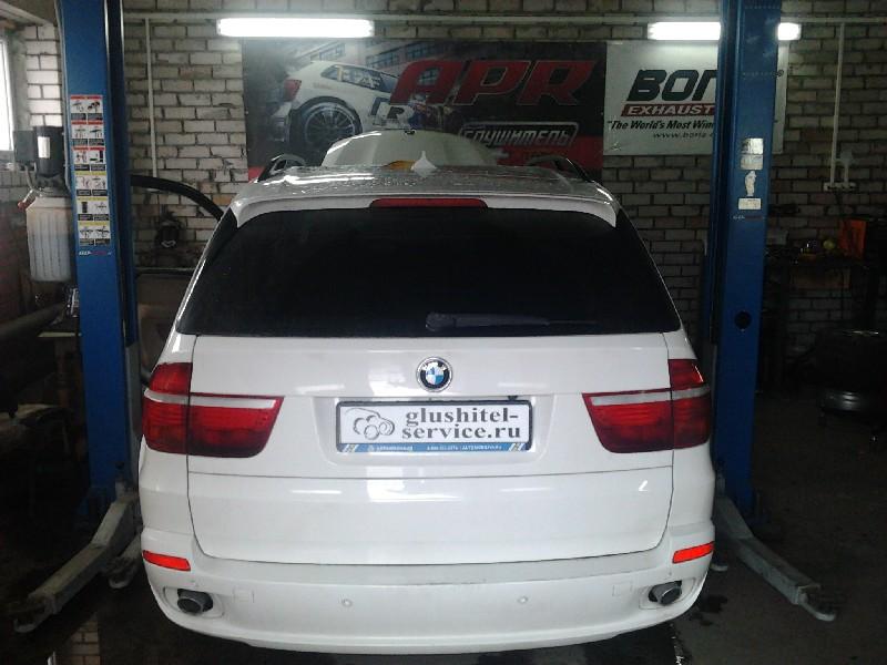 Удаление сажевого фильтра BMW X5 в Глушитель-сервисе