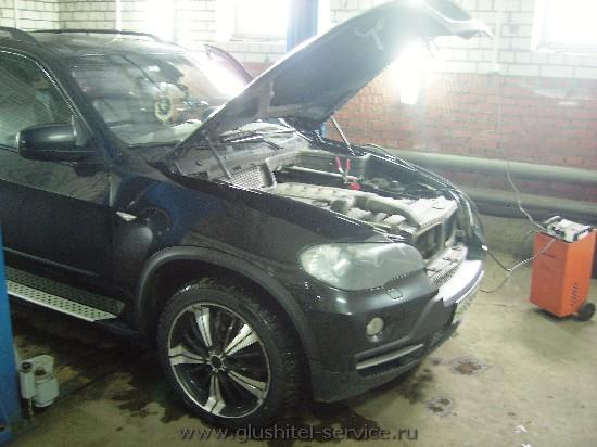 Удаление сажевого фильтра BMW X5 3.0d в Глушитель-Сервисе