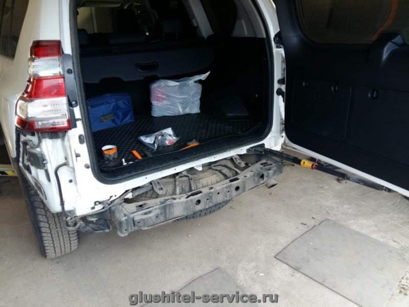 Установка фаркопа  Galia T065C на Toyota Prado (LC)
