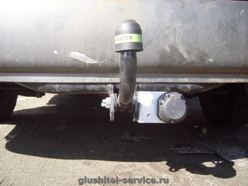 Установка фаркопа H212-A Лидер-плюс Hyundai Matrix