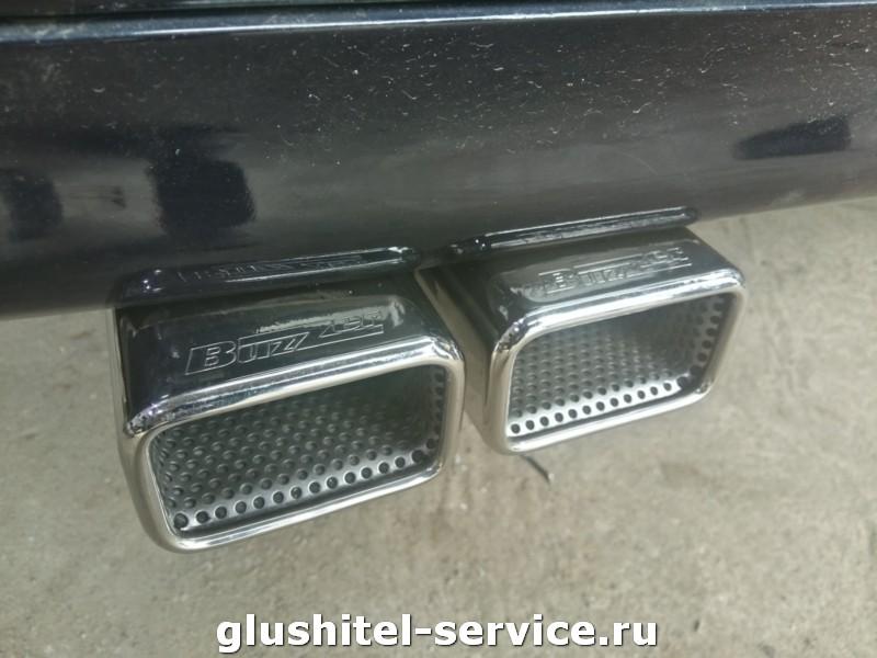 Установка насадок Buzzer zz2x200 на Mercedes Benz