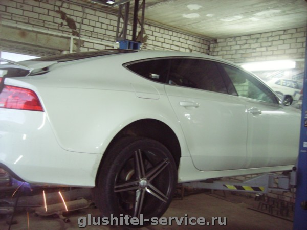 Установка насадок Buzzer ZZ93X Audi A7