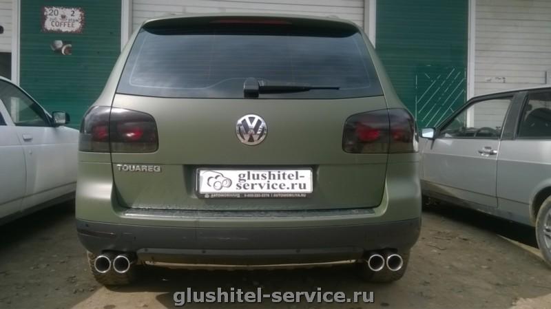 Установка насадок Buzzer zzx81 на VW Touareq