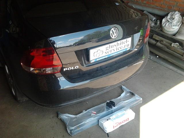 Установка фаркопа на VW Polo в Ярославле