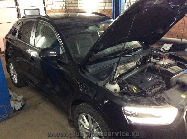 Увеличение мощности Audi Q3 в Глушитель-сервисе